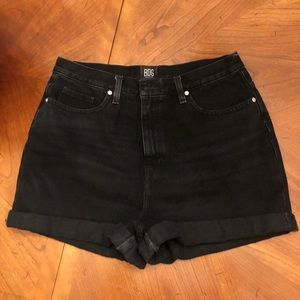 BDG black jean shorts from Urban Outfitters.
